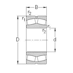 Bantalan 23144-MB-W33 NKE